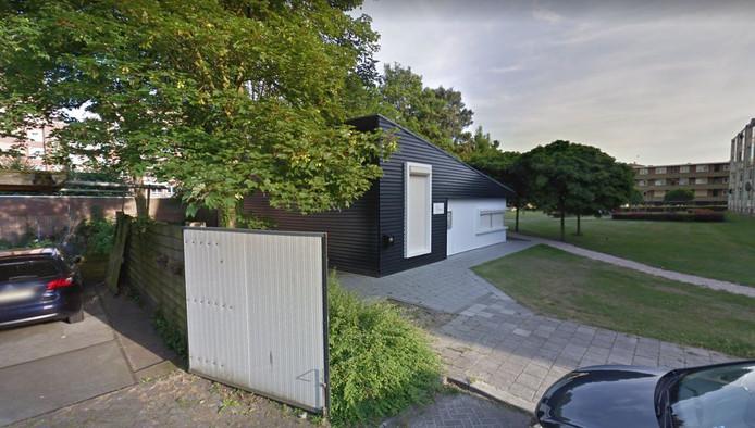 Het gebouw De Poster in het Schrijverspark in Veenendaal.