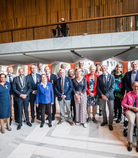 'Zoveel lintjes, start van een mooie traditie in Arnhem'