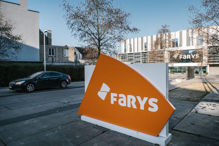 De kantoren van Farys in de Stropstraat in Gent. Beeld Wouter Van Vooren