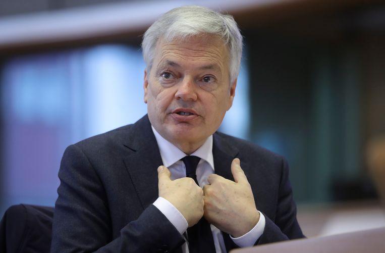 Onder meer voormalig vicepremier en huidig Eurocommissaris Didier Reynders maakt gebruik van de regeling. Beeld EPA