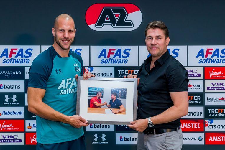 Ron Vlaar en Max Huiberts Beeld BSR_AGENCY