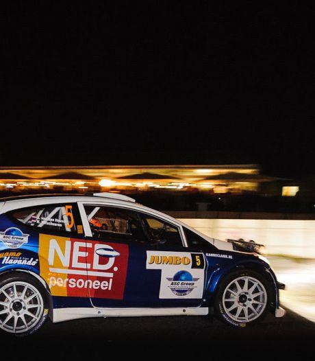 GTC Rally wacht met draaiende motor op groen licht