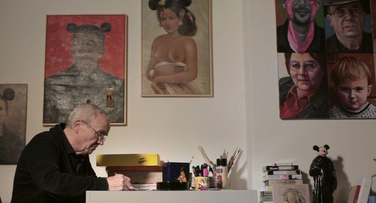 Gerrit van Dijk - Ik tel mijn tekeningen van Emma Westerman Beeld Pieter van Huystee Film & TV