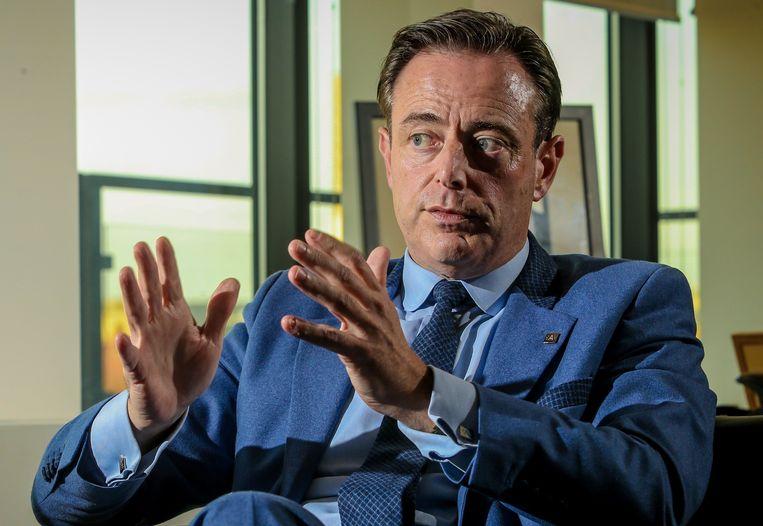 N-VA-voorzitter Bart De Wever wil het project Kompas over enkele jaren evalueren. Beeld Photo News