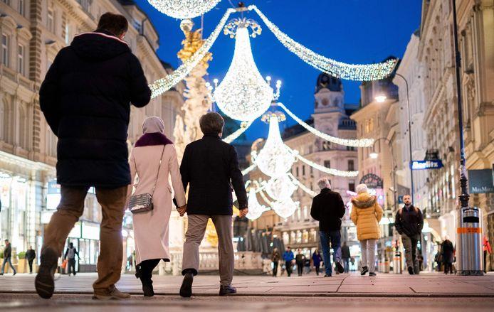 In Wenen heerst al een kerstsfeer.