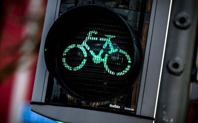Fietsers krijgen bij bepaalde stoplichten vaker en langer groen licht.