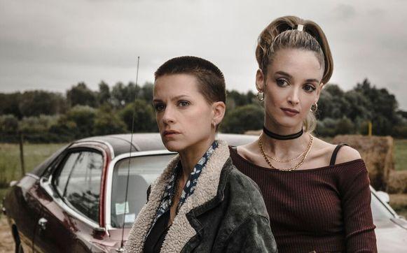 Veerle Baetens (links) en Charlotte Le Bon (rechts).