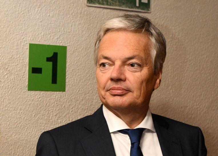 Minister van Buitenlandse Zaken Didier Reynders. Beeld Photo News