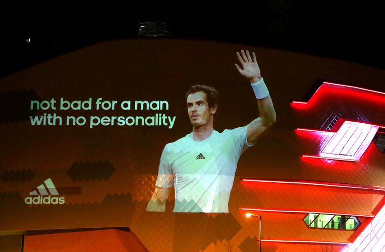 Andy Murray. Beeld GETTY