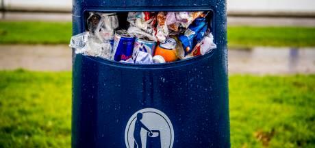 Zwolle weigert afvalbakken terug te plaatsen