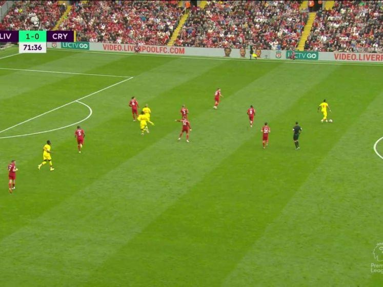 Virgil van Dijk met assist belangrijk voor Liverpool