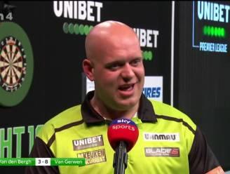 """Van Gerwen na ruime zege tegen Van den Bergh: """"Dimitri moet nog een 'figuur' worden"""""""