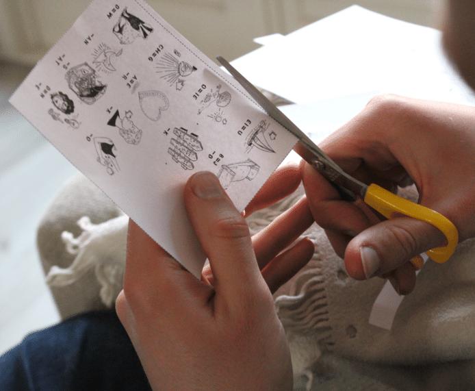 Met de rebussen van illustrator Renée van den Kerkhof hoeven kinderen zich niet te vervelen.