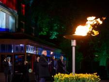 Bevrijdingsvuur brandt weer in Wageningen