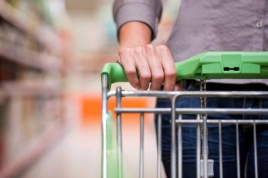 Boeren dreigen met lege supermarkten. Foto ter illustratie.