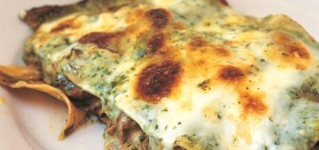 Heel veel smaken op elkaar in deze 'lasagne kapsalon'