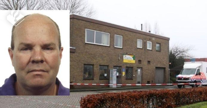 Marcel Hoogerbrugge woonde in een bovenwoning op een industrieterrein in Hoogeveen.