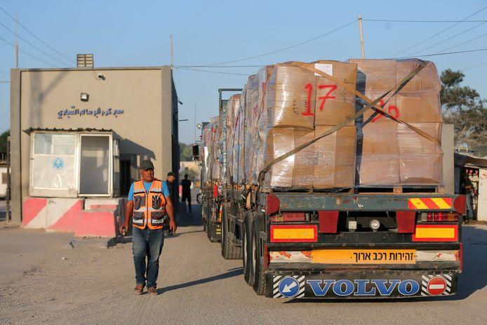 De COGAT besliste ook om de grensovergang Kerem Shalom volledig te openen voor de doorgang van materiaal en goederen.