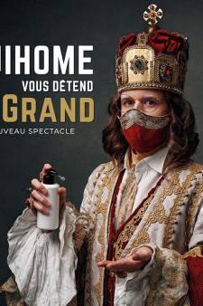 GuiHome sera au festival international du rire de Liège en octobre 2021