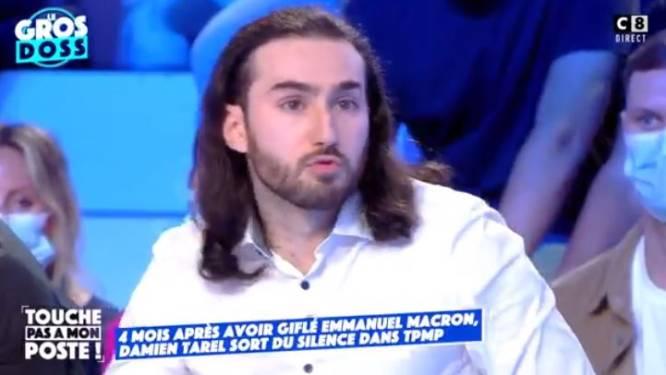 """Fransman (28) die Macron klap in gezicht gaf, heeft """"geen enkele spijt"""""""