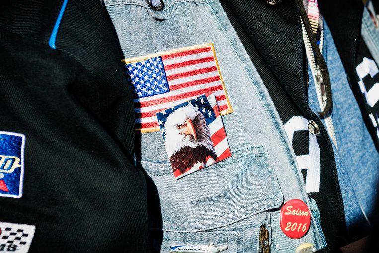 De Amerikaanse zeearend. Het ultieme symbool. Beeld Geert Braekers