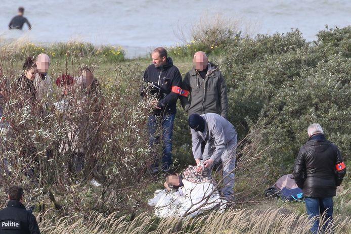 Reconstructie van de moord op Solange Hennaert (82) uit Bredene.