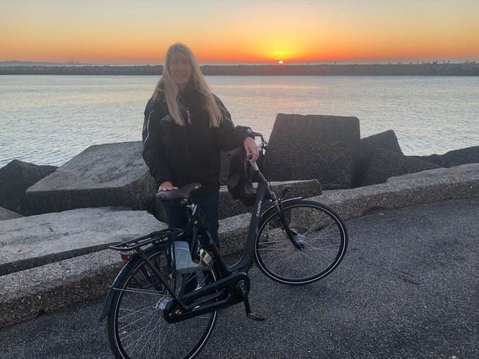 Liesbeth van Tongeren heeft haar fiets weer terug.