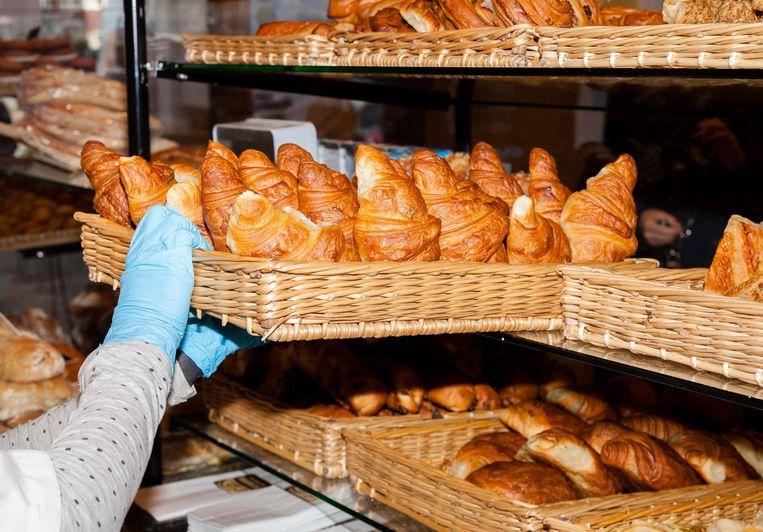 Croissants van Le Fournil de Sébastien. Beeld Nina Schollaardt