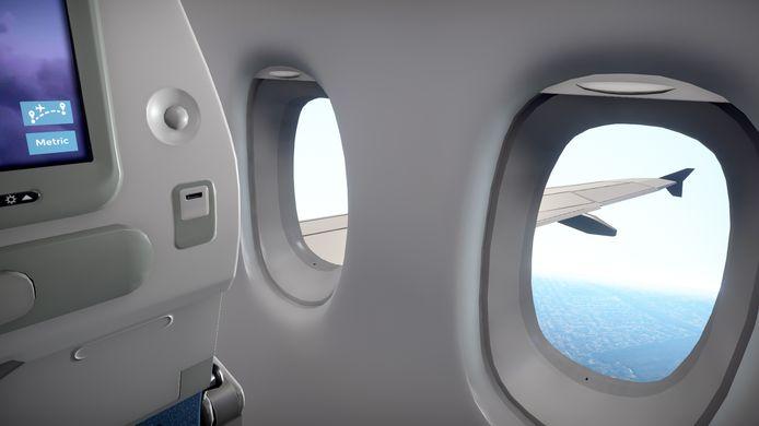 Uit het raam kijken is een van de vele spannende dingen die je kunt doen in 'Airplane Mode'.
