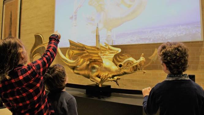 Opschudding in het Yper Museum: Draak Margriet is verdwenen