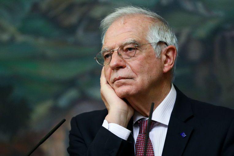 EU-buitenlandchef Josep Borrell. Beeld AP