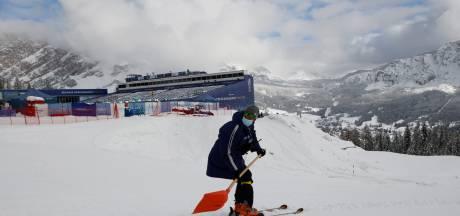 WK ski moet door hevige sneeuwval weer onderdeel uitstellen