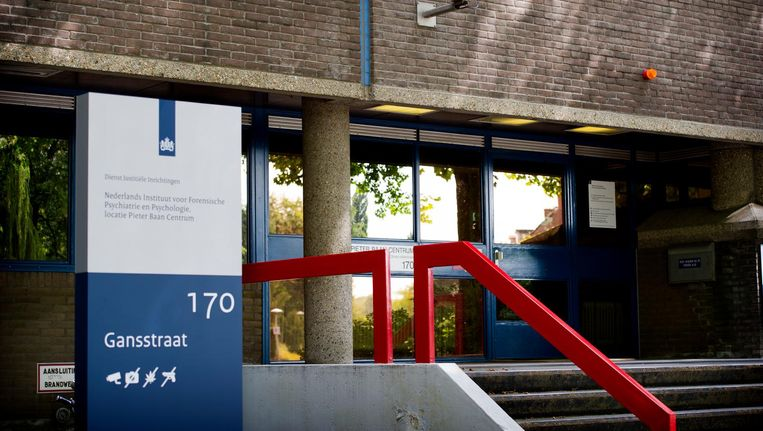 Het Pieter Baan Centrum (PBC), de psychiatrische observatiekliniek van het Nederlands Instituut voor Forensische Psychiatrie en Psychologie (NIFP) in Utrecht. Beeld ANP
