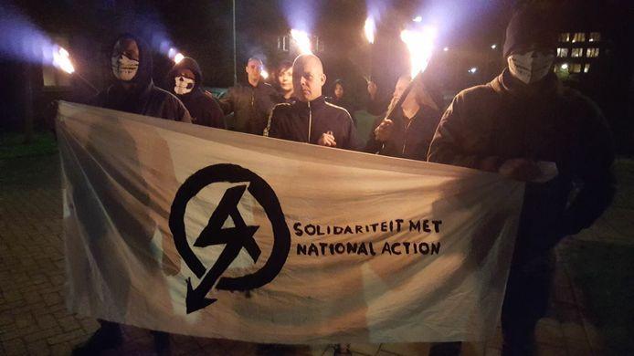 Spontane protestbijeenkomst RVF Nederland in Nijmegen.