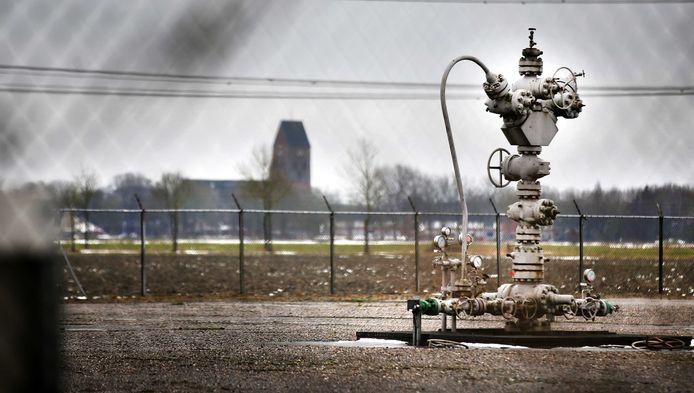 Een gaskraan in Groningen