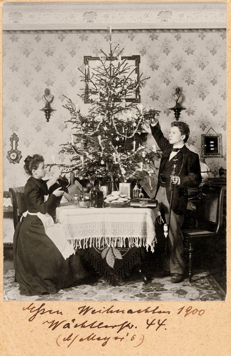 1900: Eerste kerst als echtpaar. Beeld Museum Charlottenburg-Wilmersdorf