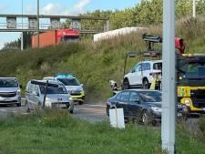Nederlandse straatracer veroorzaakt zwaar ongeval bij Antwerpen, Duitse straatracer op de vlucht