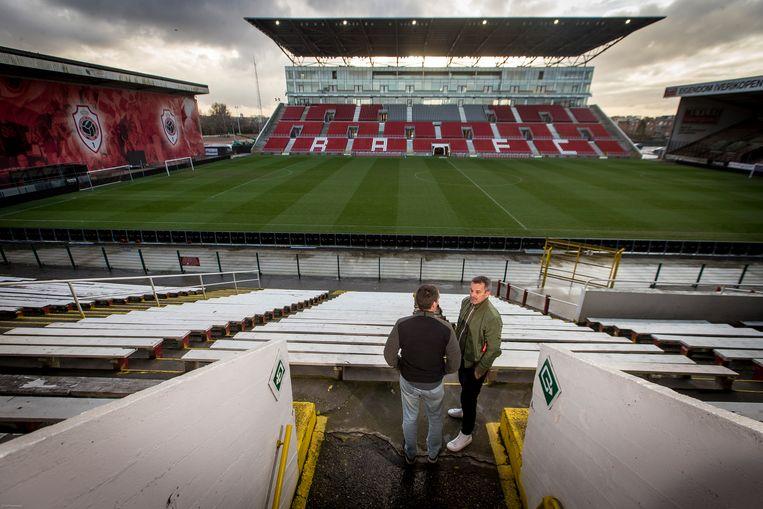 Het Bosuil stadion in Deurne in 2018.