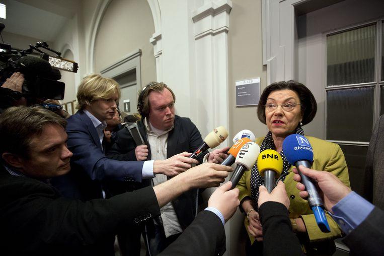 Oud-Kamervoorzitter Gerdi Verbeet in april 2012. Beeld anp
