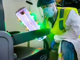 Staaf met ultraviolet licht moet corona uit vliegtuigen houden