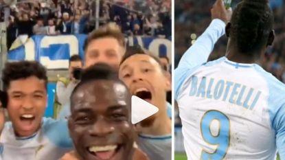 VIDEO. Mario Balotelli slaat weer toe: Italiaan post tijdens wedstrijd filmpje op Instagram