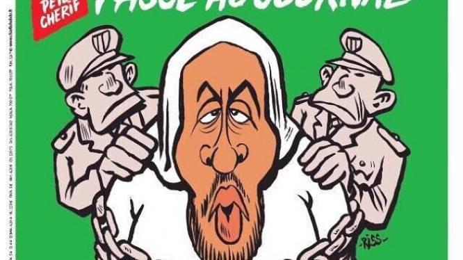 """""""Passe au journal quand tu auras 5 minutes"""": Charlie Hebdo salue l'arrestation de Peter Cherif"""