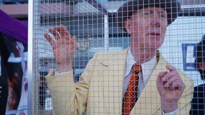 Opvallend tafereel in Blankenberge: Herr Seele laat zich opsluiten in kooi