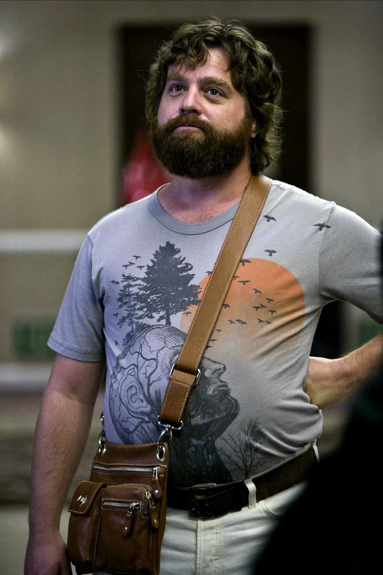 Zach Galifianakis als Alan in The Hangover (2009). Beeld Alamy Stock Photo