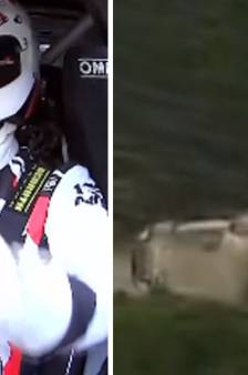 Les images d'un spectaculaire accident lors du Rallye de Sardaigne