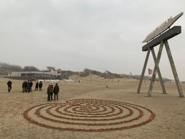 Wandelwake voor verdronken vluchtelingen Zeebrugge
