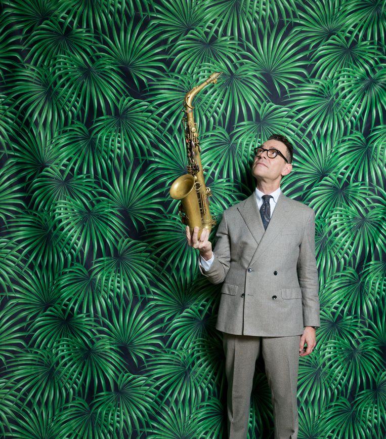 Altsaxofonist Benjamin Herman: 'Overal de hardste zijn is op een zeker moment niet zo interessant meer.' Beeld Ivo van der Bent