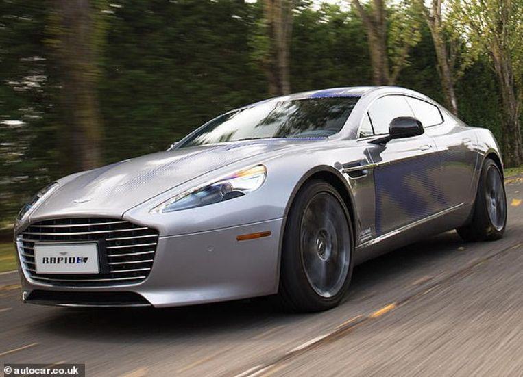 Van de Aston Martin Rapide E worden slechts 155 stuks gemaakt. Beeld rv