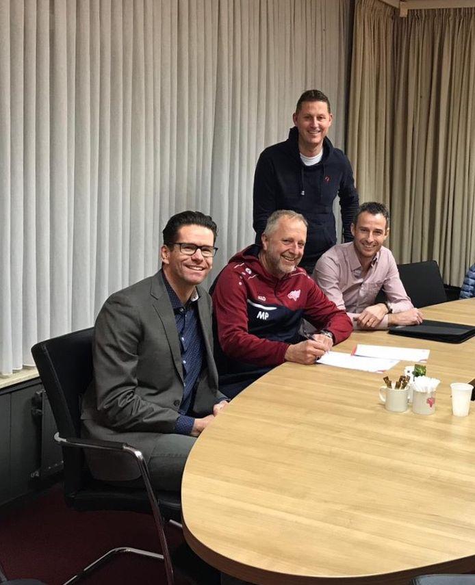 Mario Plugers tekende in 2019 bij Stiphout Vooruit.