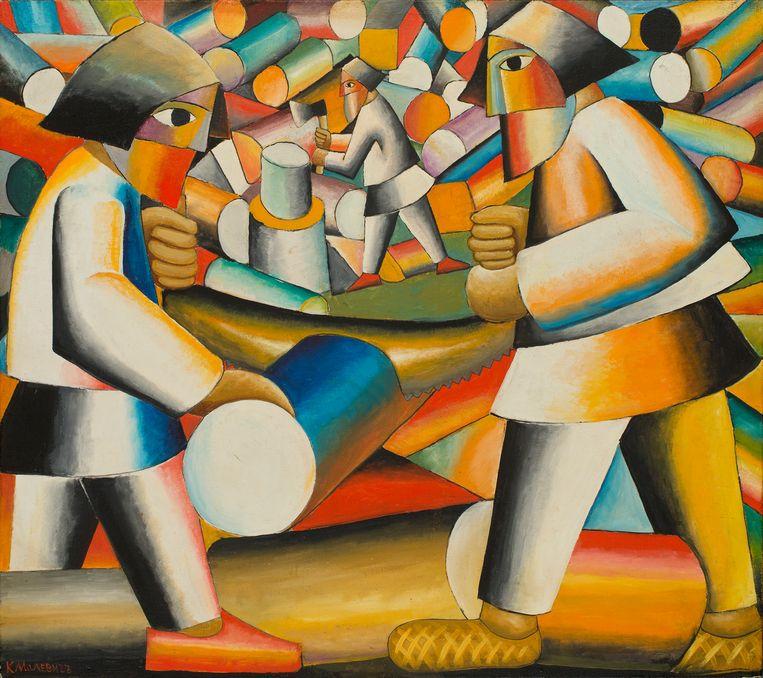 Een van de omstreden Toporovski-werken. Beeld BELGA_HANDOUT